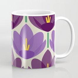Crocus Flower Coffee Mug