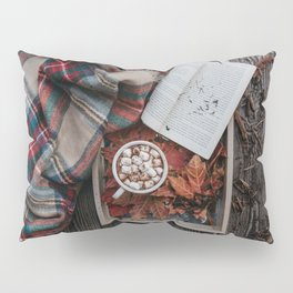 Marshmallows, Hot Chocolate, Autumn Pillow Sham