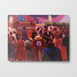 Another View of America by Archibald Motley Metal Print