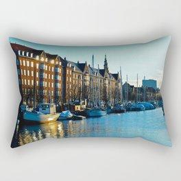 Copenaghen's river Rectangular Pillow