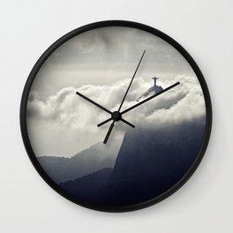 Cristo Redentor Wall Clock