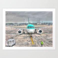 Landing Art Print
