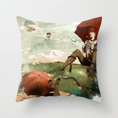 CLOUDWALKERS TWO Throw Pillow