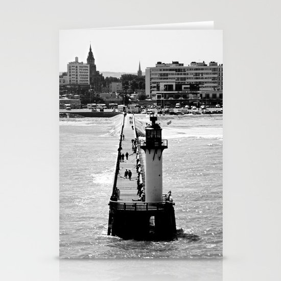Calais Lighthouse Stationery Cards