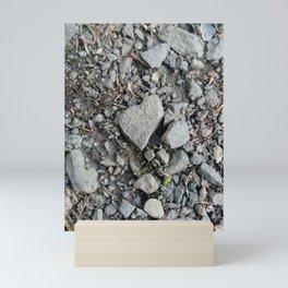 Heart rocks Mini Art Print