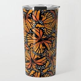 Monarch Butterflies Pattern | Butterfly Pattern | Travel Mug