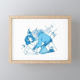 Sandbox Love Never Dies Framed Mini Art Print