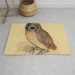 Albrecht Durer The Little Owl Rug