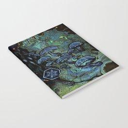 Dank, Dark Regions Notebook