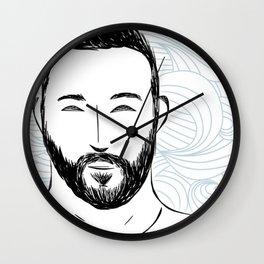 Beard Boy: Miro Wall Clock