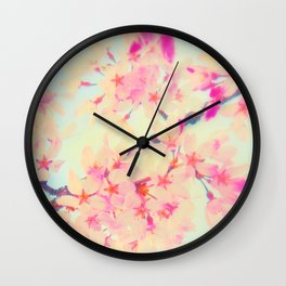Blossoms - NaomYb' Wall Clock
