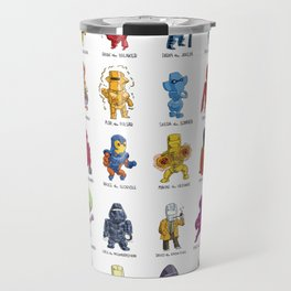 ROM and his Spaceknights in Adorable Collectible Minisize Travel Mug
