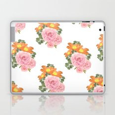 Summer Floral Print Laptop & iPad Skin