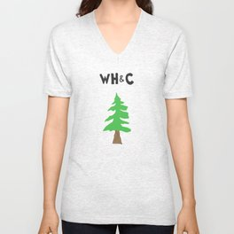[WHC] Evergreen Tree Unisex V-Neck
