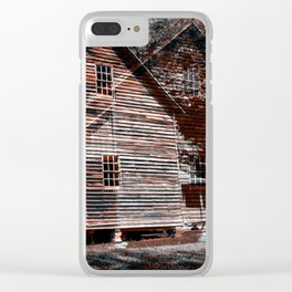 A House In The Mountains Clear iPhone Case