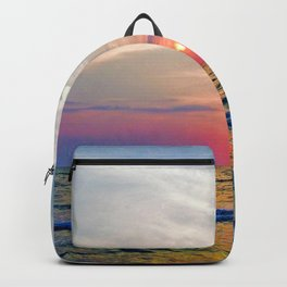 Naples Florida sunset on the Gulf of Mexico Backpack