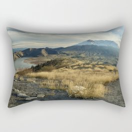 Mt St Helens Rectangular Pillow