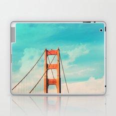 Retro Golden Gate - San Francisco, California Laptop & iPad Skin