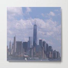 NY Cityscape Metal Print