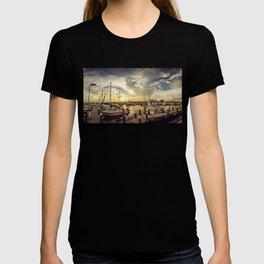 Summer Harbor Sunset T-shirt