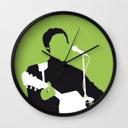 No076 MY MCCARTNEY Minimal Music poster Wall Clock