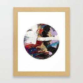 Hidden Treasure Abstract Framed Art Print