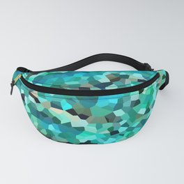 Mermaid Fish Tail Scales Fanny Pack