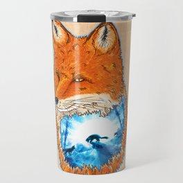 Untamed Winter Travel Mug