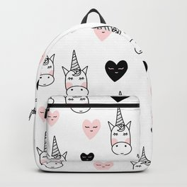 Unicorn hearts Backpack