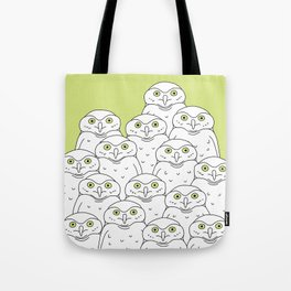 Group of Owls Tote Bag