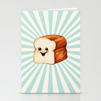 bread Stationery Cards featuring Bread by Kelly Gilleran