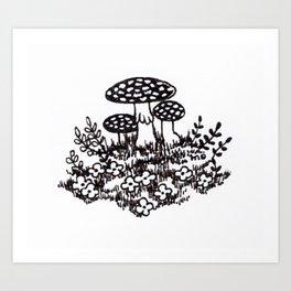 Fly agaric 1 Art Print