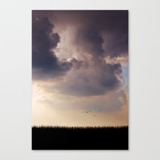 Between drama and bliss Canvas Print