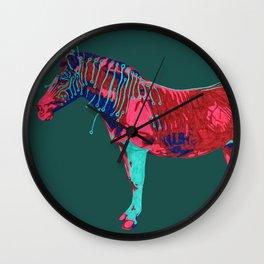 Electric Quagga Wall Clock