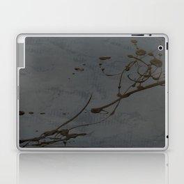 Jackson Pollock Inspired Study In Black - Glam Laptop & iPad Skin
