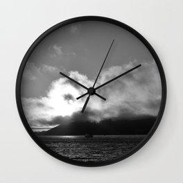 Golden Gate Grays Wall Clock