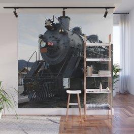 Vintage Railroad Steam Train Wall Mural
