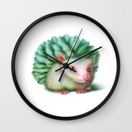 Succulenthog Wall Clock
