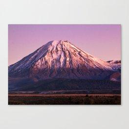 Mt Ngauruhoe Canvas Print