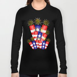 Firecracker Celebration Long Sleeve T-shirt