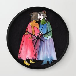 Timeless Lady Love Wall Clock