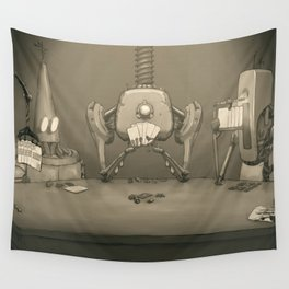 Bot Poker Wall Tapestry