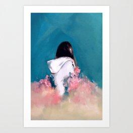 Bohemian Valley Girl Art Print