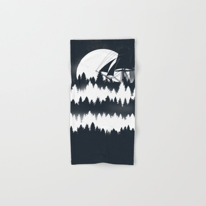 Forest Wave Hand & Bath Towel