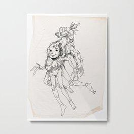 Sketch #7 Metal Print