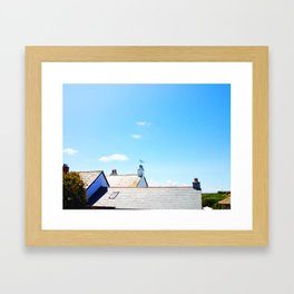 Rooftops Framed Art Print