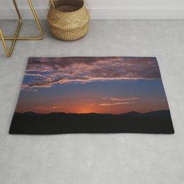 SW Summer Mt Sunrise - I Rug