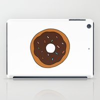 doughnut iPad Cases featuring doughnut by THE HOUSE OF FOX