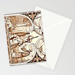 Beheading - The German emperors and their time, with the intermediate realm of 1806-1871 Stationery Cards