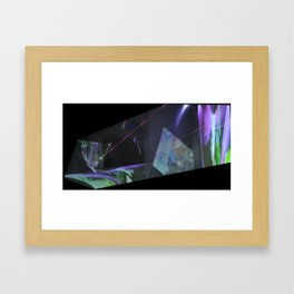 refraction Framed Art Print